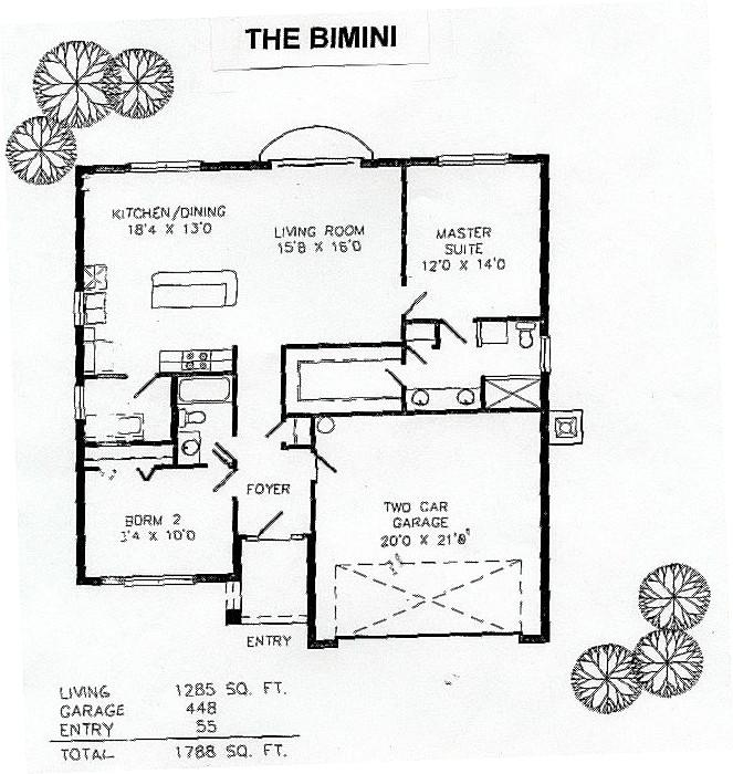 Bimini Layout