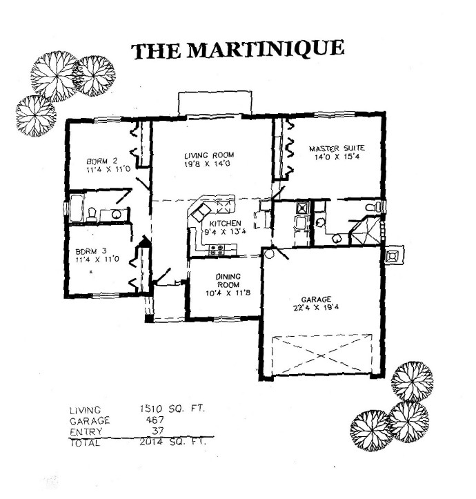 Martinique Layout